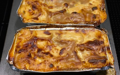 Three sauce lasagne 600g - serves two By Alastaor Little