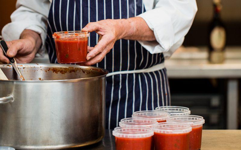 Tomato & Basil Sauce 370ml - serves four By Alastair Little