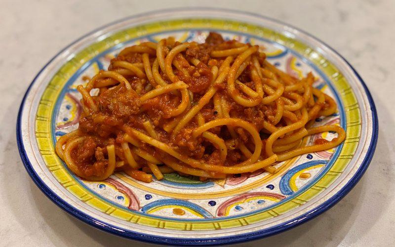 Sugo di salsicce (Sausage sauce for pasta) 370ml - serves four