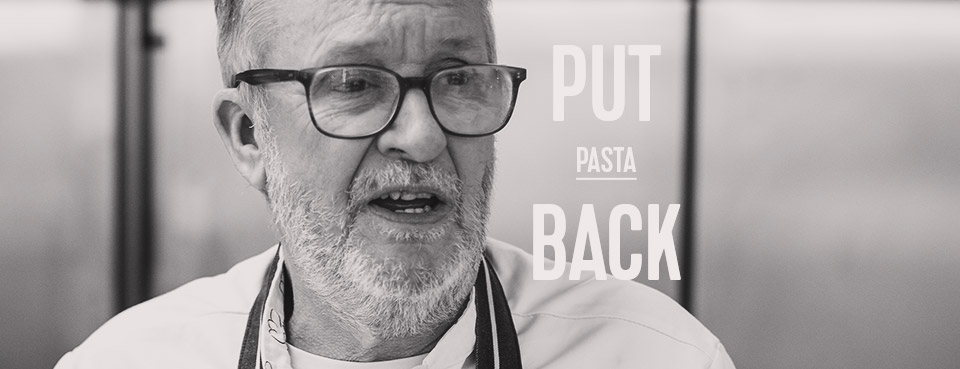 Put Pasta Back On The Menu