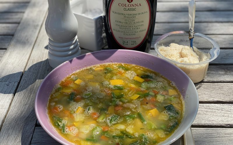Minestrone di Primavera Soup 500ml - Serves two By Alastair Little