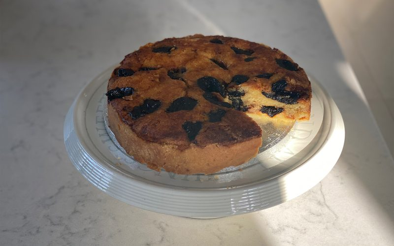 Prune and frangipane tart - serves 8 By Alastair Little