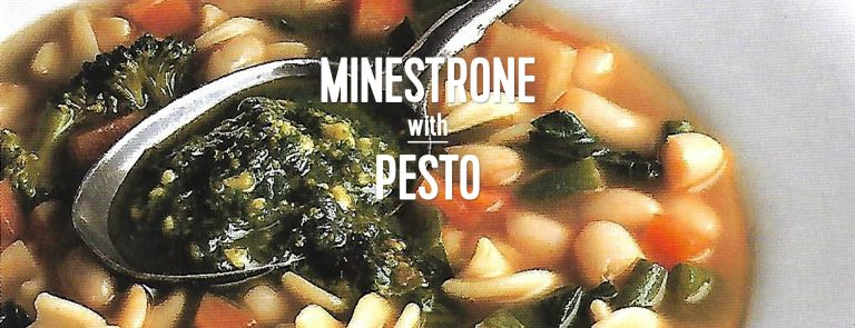 RECIPE: Minestrone with Pesto