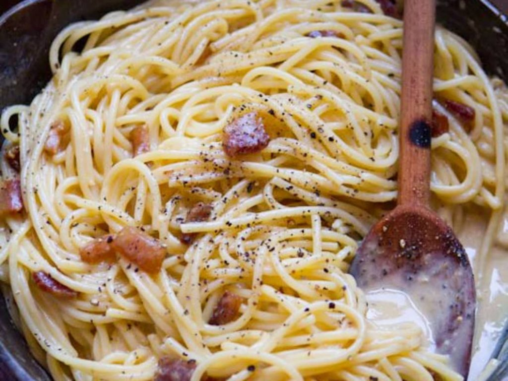The real carbonara – the irascible chef