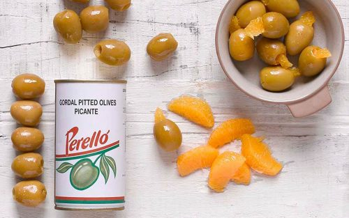 PERELLO Gordal Pitted Olives 150g