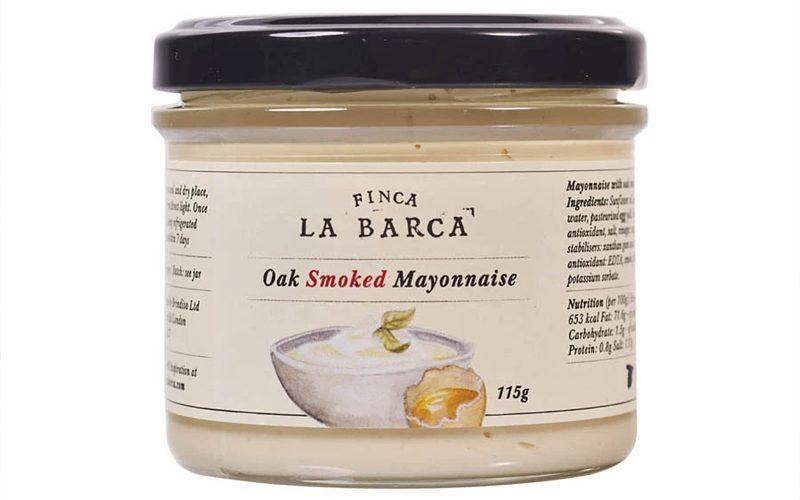 FINCA LA BARCA Oak smoked mayonnaise 115g