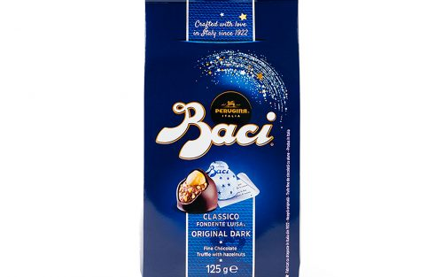BACI Original dark bag - truffle chocolates with hazelnut (10pcs) By Alastair Little