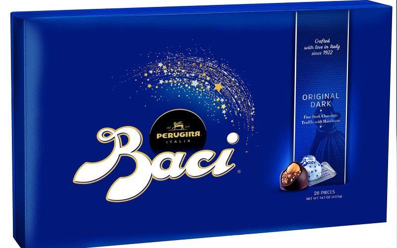 BACI Dark truffle and hazelnut chocolates 350g By Alastair Little