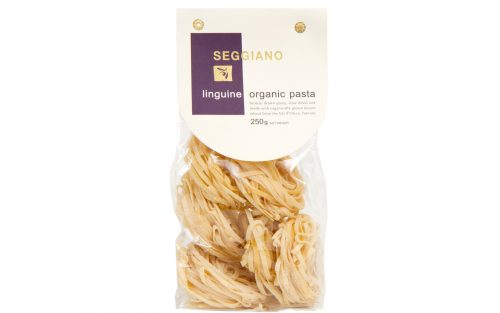 SEGGIANO linguine organic pasta 500g By Alastair Little