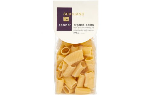 SEGGIANO Paccheri organic pasta 500g By Alastair Little
