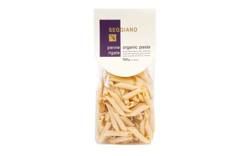 SEGGIANO Penne rigate organic pasta 500g By Alastair Little