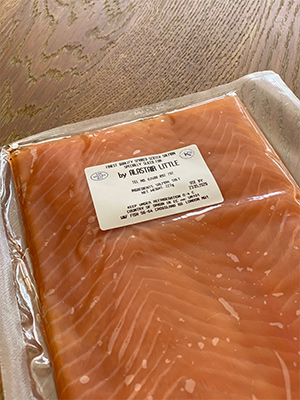 Smoked salmon The London Cure By Alastair Little
