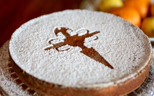 Tarta de Santiago IGP Almond Cake 700g - serves 8 By Alastair Little