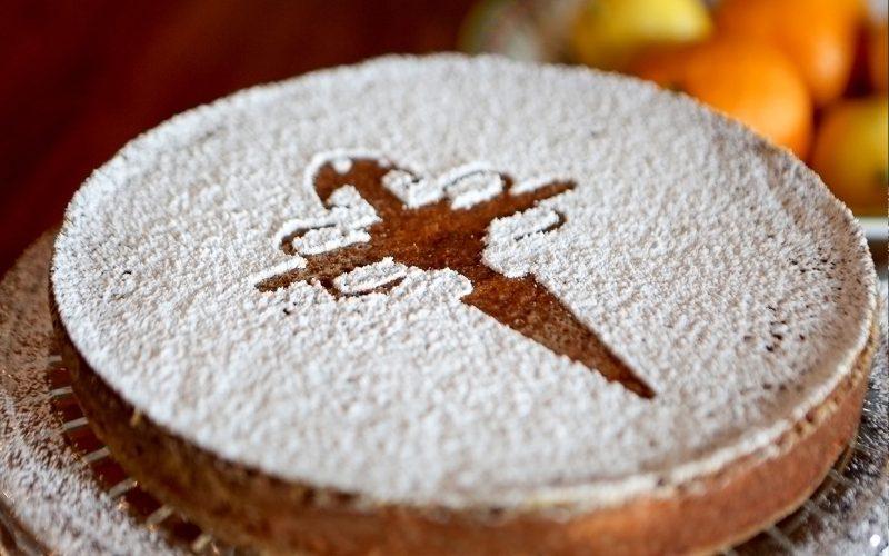 Tarta de Santiago IGP Almond Cake 700g - serves 8 By Alastair Little
