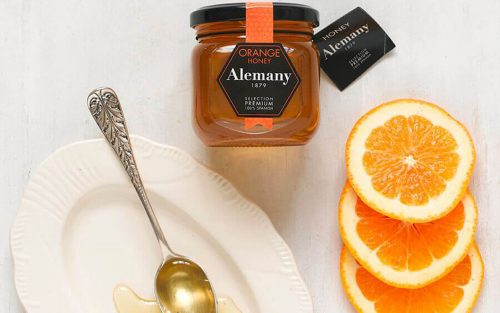 ALEMANY Orange blossom honey 250g By Alastair Little
