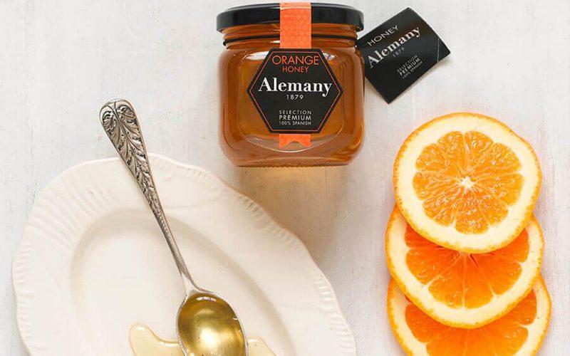 ALEMANY Orange blossom honey 250g By Alastair Little