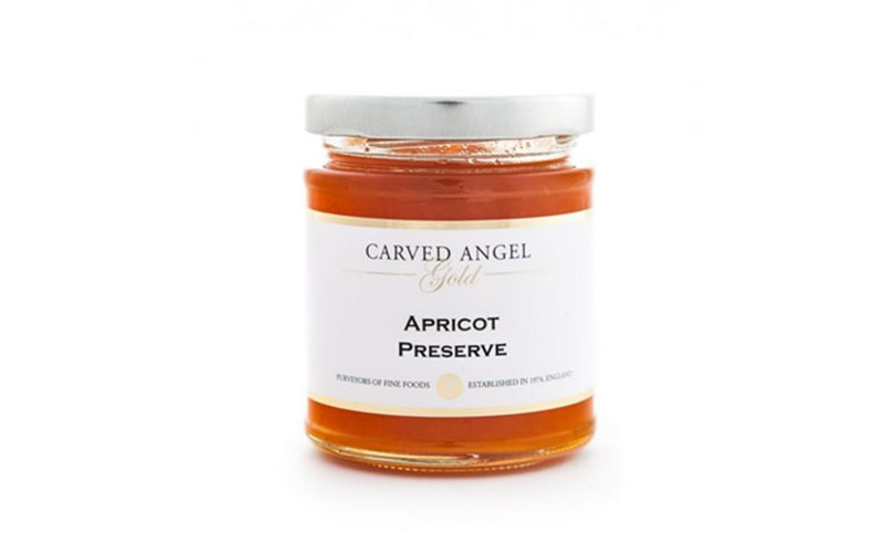 CARVED ANGEL Apricot Preserve 215g By Alastair Little