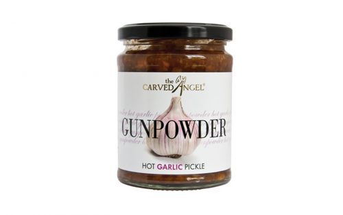 CARVED ANGEL Gunpowder Hot Garlic Pickle 325g By Alastair Little