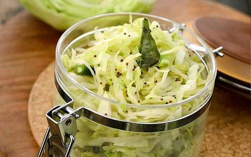 Cabbage kachumber 250g plus dressing By Alastair Little
