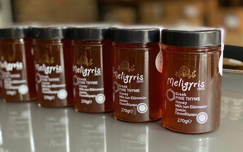 MELIGYRIS Crete - Greek Thyme Pine Honey 270g By Alastair Little