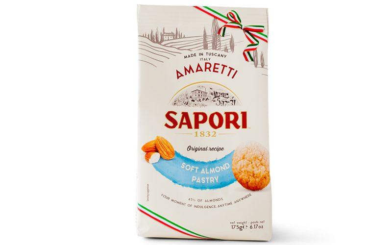 SAPORI Soft Amaretti Morbidi 175g By Alastair Little