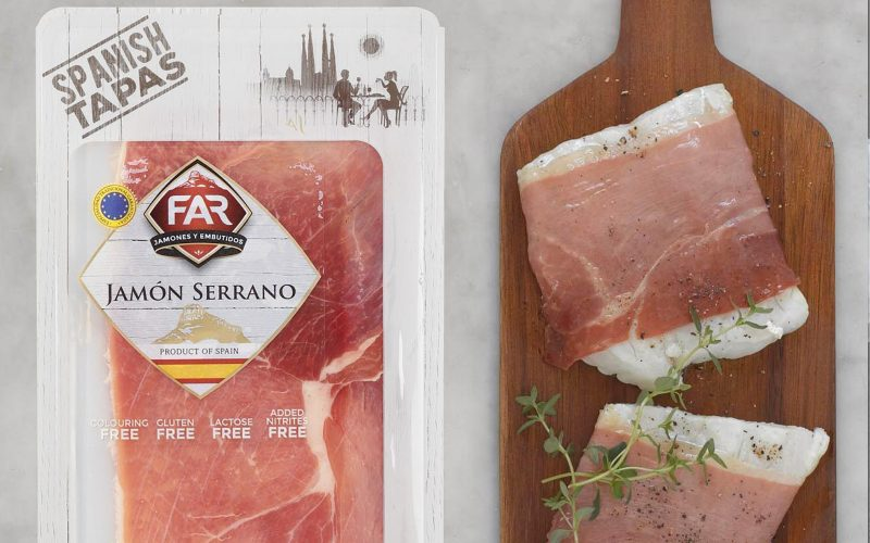 FAR Serrano Ham Slices 100g By Alastair Little