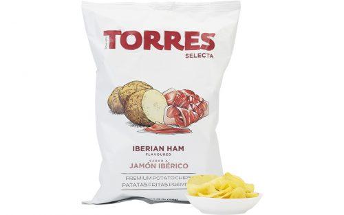TORRES Iberico Ham Potato Crisps 150g By Alastair Little