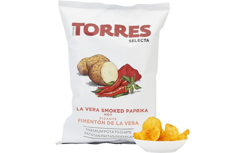 TORRES Smiked Paprika Potato Crisps 150g By Alastair Little