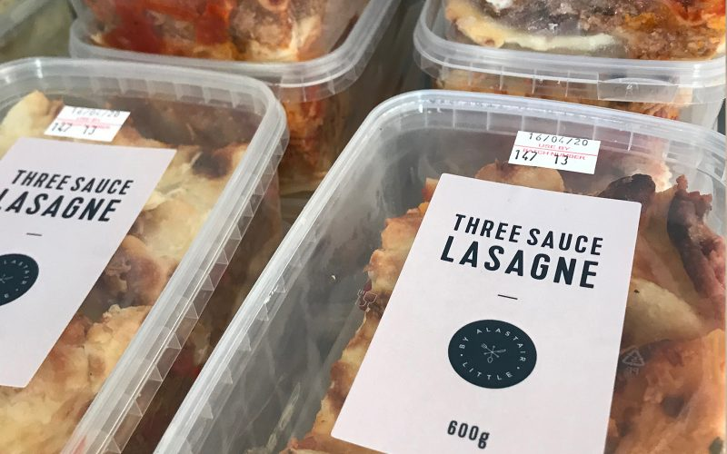 Three sauce lasagne 600g - serves two By Alastair Little