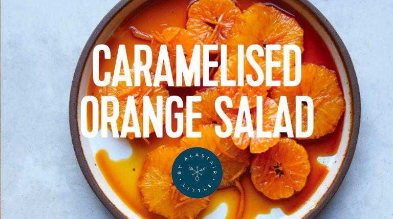 RECIPE: Caramelised Orange Salad