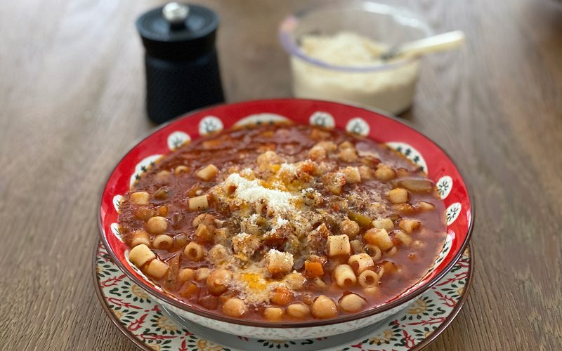By Alastair LittlePasta e fagioli stew 500ml - serves two