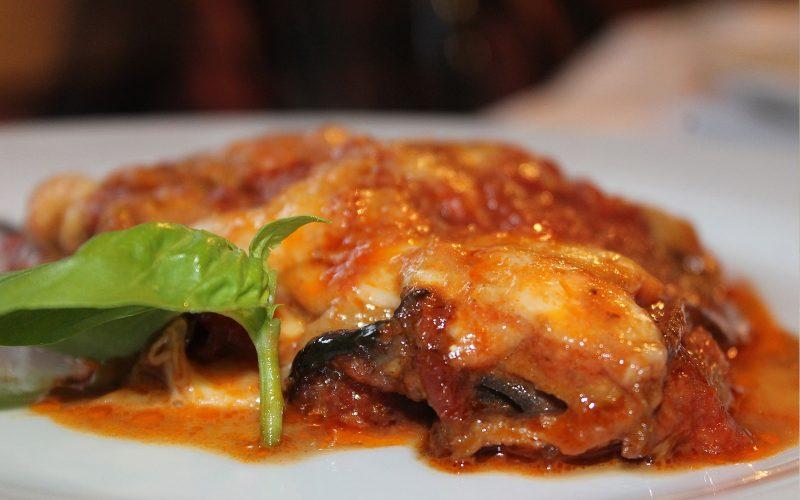 Parmigiana di Melanzane 300g - serves one By Alastair Little