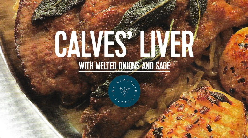 RECIPE: Calves Liver with Melted Onions and Sage