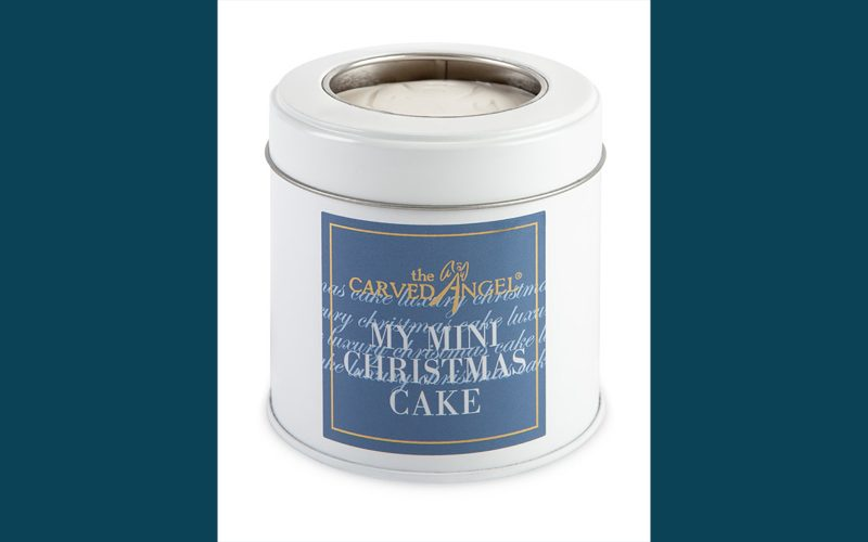 CARVED ANGEL Christmas Cake Mini By Alastair Little