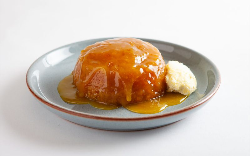 CARVED ANGEL Sticky Lemon Pudding - 290g By Alastair Little