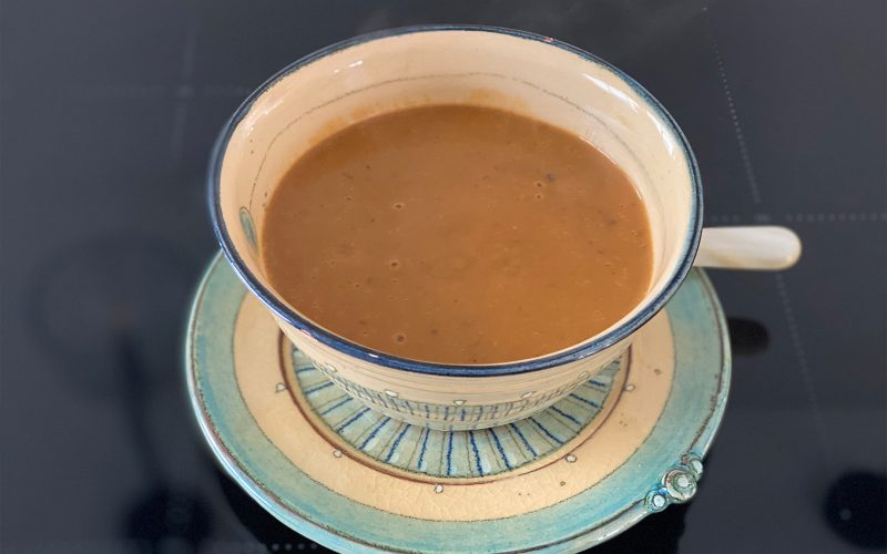 Chestnut soup 500ml - serves two By Alastair Little