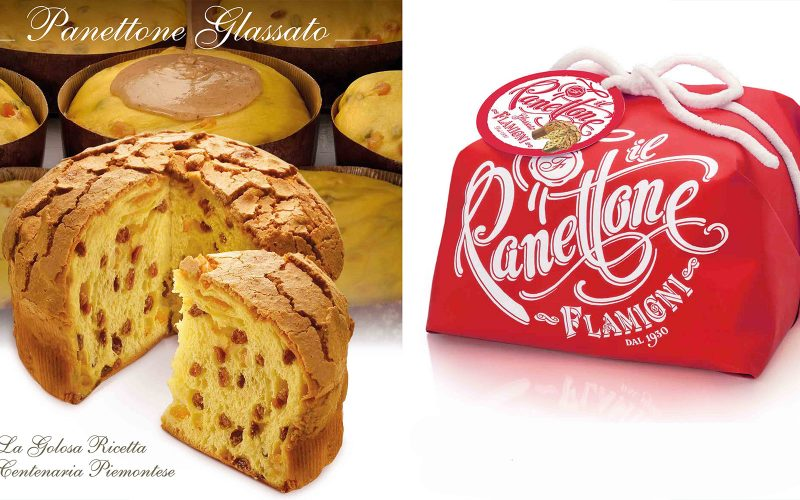 FLAMIGNI Glazed Panettone 1kg By Alastair Little