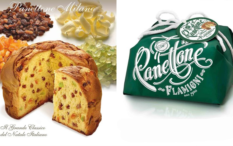FLAMIGNI Traditional Panettone 1kg By Alastair Little
