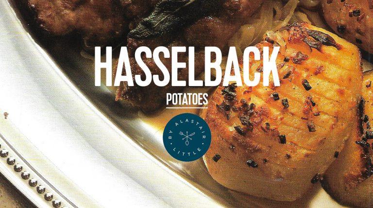 RECIPE: Hasselback potatoes