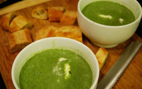 Spinach soup 500ml - serves two By Alastair Little