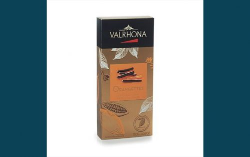 VALRHONA Orangettes Ballotin - 130g By Alastair Little