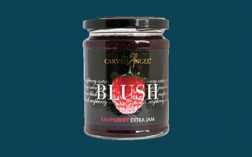 CARVED ANGEL Raspberry Jam 320g By Alastair Little