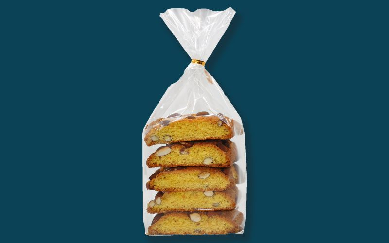 MARCHI VANDA Almond cantuccini bag 300g By Alastair Little