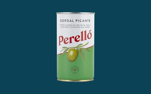PERELLO Gordal Pitted Spicy Olives 150g By Alastair LIttle