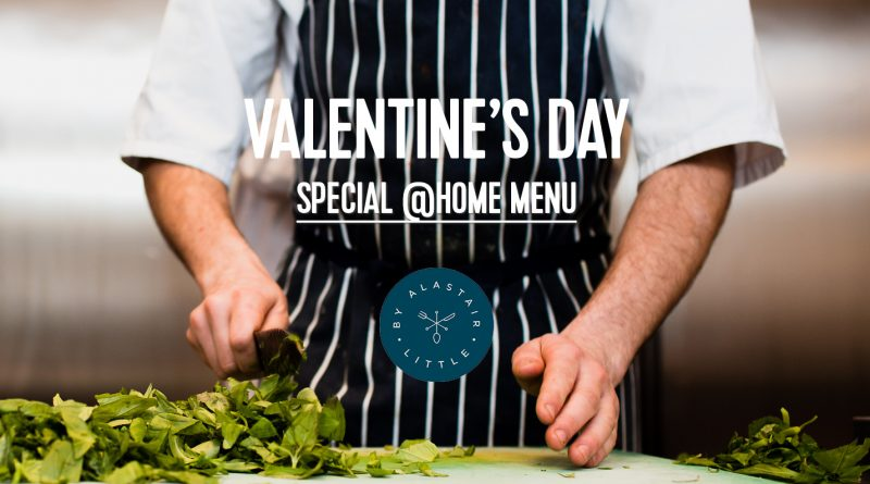 Valentine's Day special service for 2 By Alastair Little