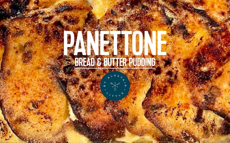 RECIPE: Panettone bread and butter pudding
