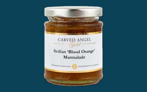 CARVED ANGEL Sicilian Blood Orange Marmalade 215g from By Alastair Little