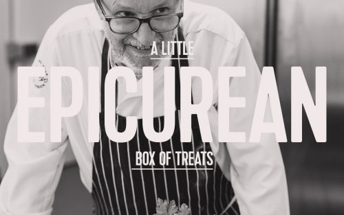 Epicurean treat box By Alastair Little